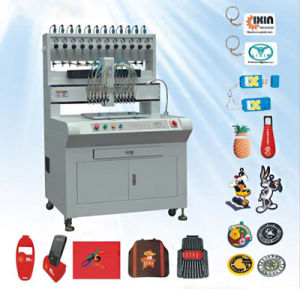 PVC 3D Label Making Machine on Wallet/Purse 12 Colors Good Quality Manufacturer pictures & photos
