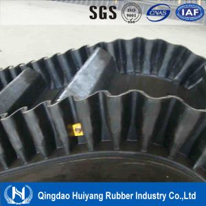 Good Quality Large Angle Corrugated Sidewall Conveyor Belt with SGS and Forma pictures & photos