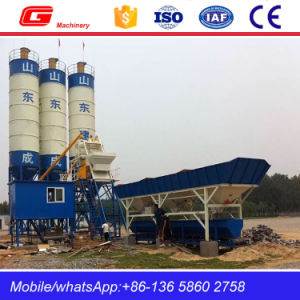 High Quality Stationary Concrete Batching Plant in China (HZS40) pictures & photos