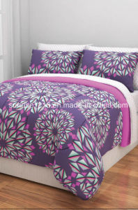 Quilt Sr-CS170222-9 Printed Microfiber Comforter Set pictures & photos