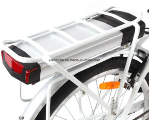 Lady Rack Battery Electric Pedal E Bike with Max Drive Bafang Motor pictures & photos