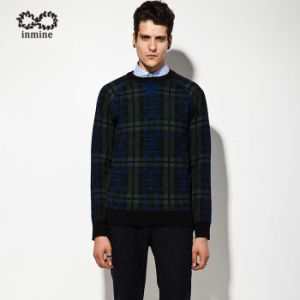 ODM Wool Acrylic Patterned Pullover Man Sweater pictures & photos