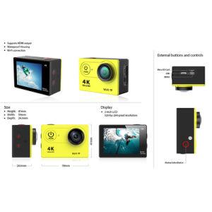 HD 4k 2.0 Inch LCD Screen 30m Waterproof Mini Sport DV Camera pictures & photos