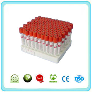 Vacuum Blood Collection Serum Tube - Red (ST-R1) pictures & photos