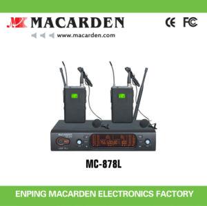 Professional UHF Wireless Lavalier Microphone (MC-878L)