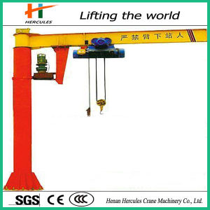 360 Degree Column Slewing Jib Crane pictures & photos