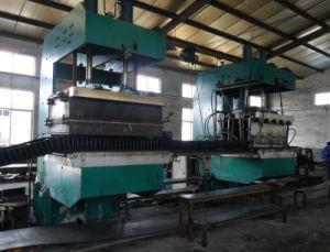 Curing Press for Corrugated Sidewall Conveyor Belt