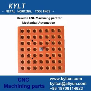 Bakelite/Phenol-Formaldehyde CNC Machining Part for Automation Machinery pictures & photos