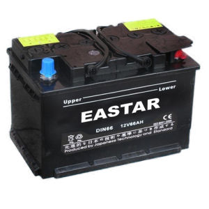 Mf Battery/DIN Car Battery/DIN62 12V66 Ah Automotive Battery pictures & photos