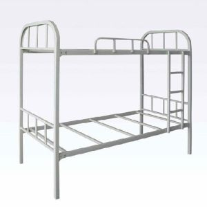 Easy Assembly Heavy Duty Army Steel Metal Double Bunk Bed with Parts pictures & photos