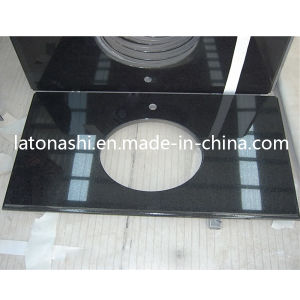 Shanxi Black Granite Vanity Top, Granite Bath Tops, Bathroom Countertops pictures & photos