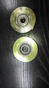 Galvanized O/U/V Groove Sliding Gate Roller Wheel and Pulley Wheel pictures & photos
