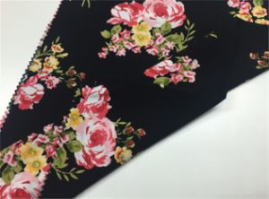 Floral Printed Rayon Fabric for Girls Dress/Skirt pictures & photos
