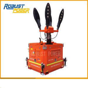 Diesel Generator Set Portable Lighting Tower pictures & photos