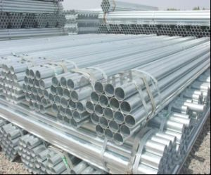 48.3mm Hot DIP Galvanized Round Steel Pipe/Pre-Gal Steel Tube pictures & photos