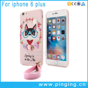 Silicone Cute Dog Mobile Cover for iPhone 6/6plus 7/7plus pictures & photos
