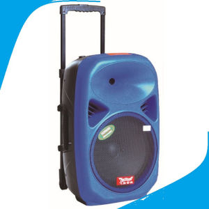 12′′ Colorful Outdoor Trolley Speaker with Recordable Sound F28 pictures & photos