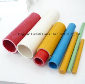 Anti-Corronsion FRP Tube, Fiberglass Pipe, GRP Pole with High Performance