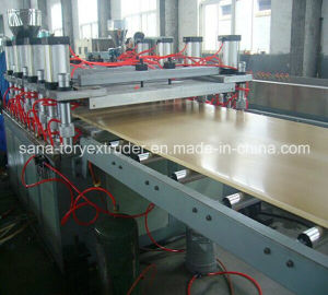 Plastic PVC WPC Crust Foam Board Extrusion Machinery pictures & photos