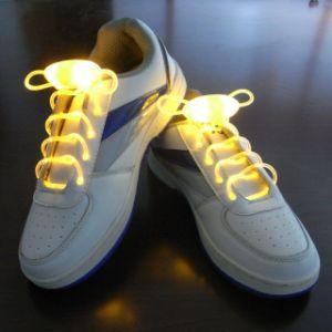 Fashion LED Shoelaces 120cm Shoes Flash Light up Glow Stick Strap Flat Shoelaces pictures & photos