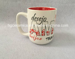 15oz Two Tone Mug. Valentin′s Day Mug pictures & photos