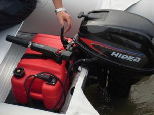 2 Stroke 90HP Tiller Control Manual Start Marine Outboard Motors pictures & photos
