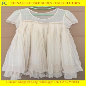 2016 Fashion and Hot Sales of Used Silk Korean Style Silk Dress pictures & photos