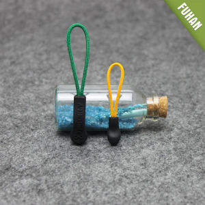 Garment Plastic Injection Zipper Puller with Cord pictures & photos