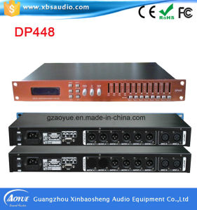 4 Inputs and 8 Outputs Digital DSP Audio Sound Processor