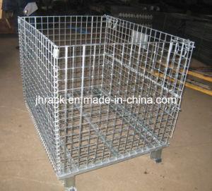 Folding Mesh Storage Cage