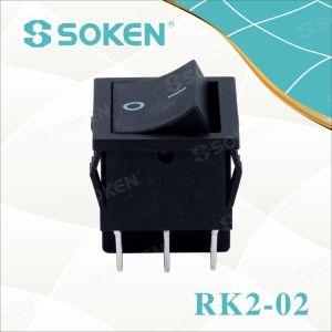 Soken Dpdt Rocker Switch pictures & photos
