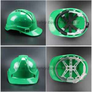 Safety Equipment Ventilation Type PE Safety Helmet (SH501) pictures & photos