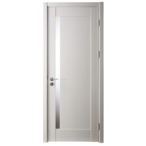China Oppein Modern White High End Interior Wooden Door