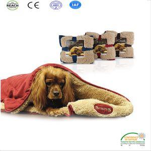 Pet Dog Cat Paw Print Blanket Dog Print Polar Fleece Dog Blanket pictures & photos