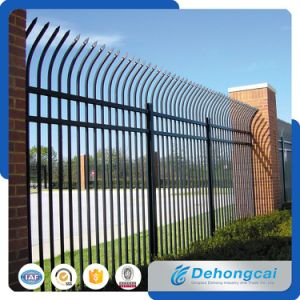 Cheap High Quality Garden Wrought Iron Fencing Panels / Metal Fence pictures & photos