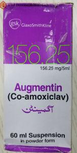 Clavulanate Potassium Oral Suspension Western Medicine Suspension Augmentin pictures & photos