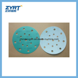 Q7 Green Film Base Hook and Loop Backing Abrasive Discs pictures & photos