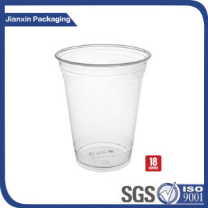 16oz Disposable Plastic Iced Coffee Drinking Cup pictures & photos