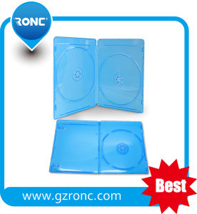 7mm Blu-Ray Case with Slim Outside Sleeve (Blue) pictures & photos