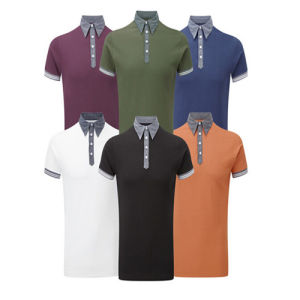 Pique Mesh USA Size Men′s Classic Polo Shirt pictures & photos