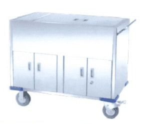Stainless Steel Aseptic Trolley pictures & photos