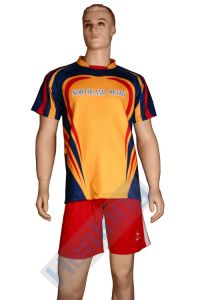 Polyester Fully Sublimation Cheap Rugby Shirts pictures & photos