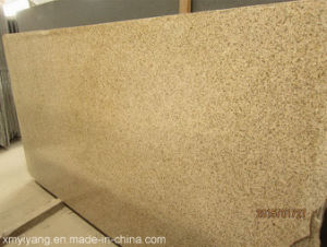 G682 Sunset Golden Granite Slab for Countertop (Polished, Flamed, Honed) pictures & photos