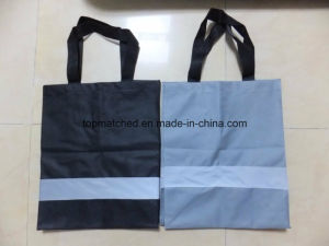 420d Fabric Reflective Warning Shopping Bag pictures & photos