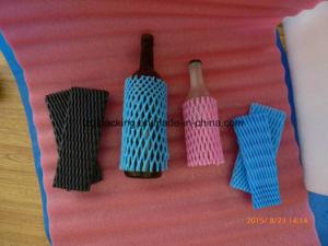 Food Grade Fruit Wine Bottle Industry Use Plastic Foam Packaging Sleeve Net pictures & photos