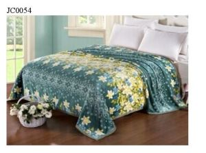 High Quality Double/King Size Printed Flannel Blanket pictures & photos