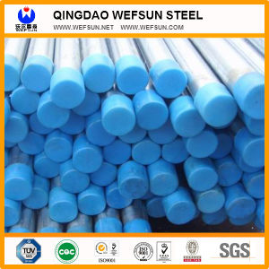 Top Quality Promotion Thread Galvanized Steel Tube with End Caps pictures & photos