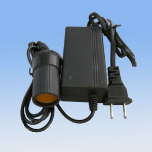 Us 12V2a Laptop Cigarette Socket Power Adapter pictures & photos