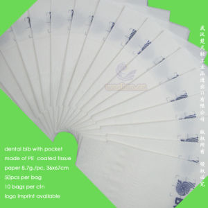 Disposable Dental Paper Bib pictures & photos