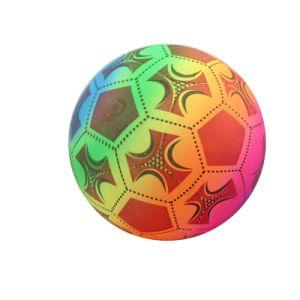 Inflatable Full Colorful Print Custom PVC Beach Soccer Ball Toys